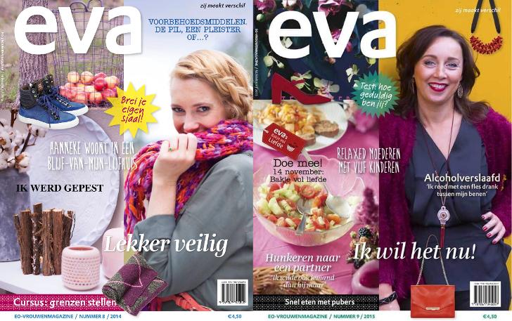 Gratis het EO Visie magazine aanvragen