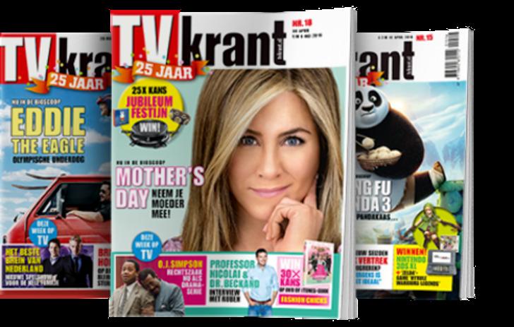 Tv Krant € 10 + Gratis HEMA-cadeaubon t.w.v. € 10
