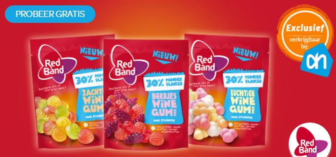 [[ GRATIS ]] Probeer de nieuwe Red Band winegums gratis