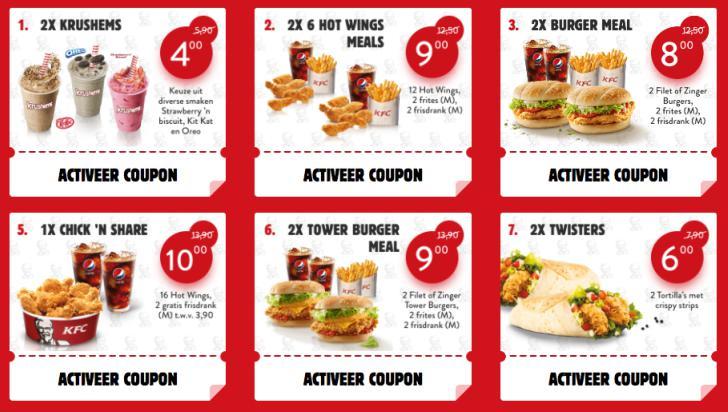 Kfc coupons nl 2019