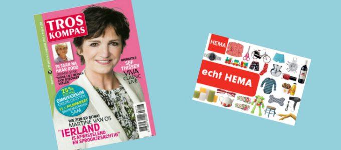 Tip: Halfjaar TrosKompas + HEMA bon voor € 10