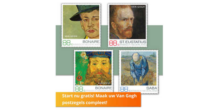 Gratis Postzegelset Van Gogh
