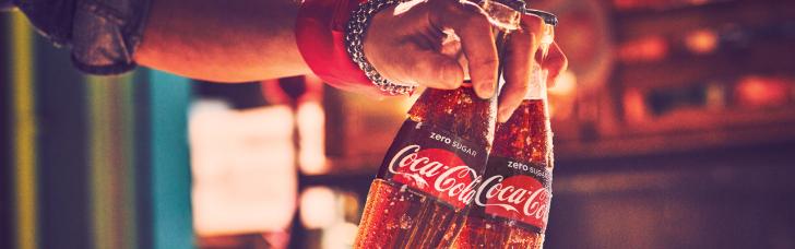 Gratis Coca-cola zero sugar