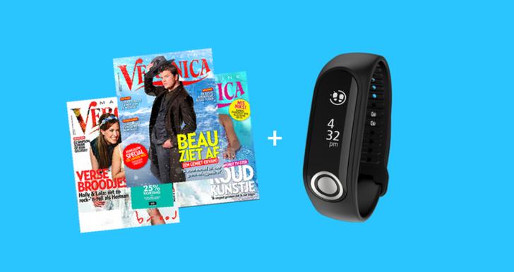 Gratis activity tracker bij Veronica magazine