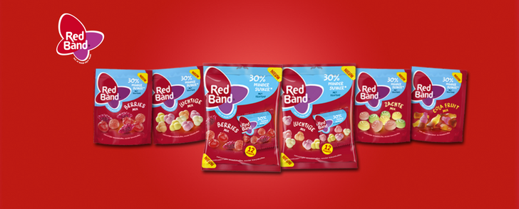 Red band winegums gratis