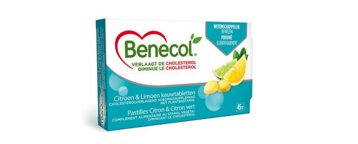 Gratis Benecol cholesterolverlagende tabletten