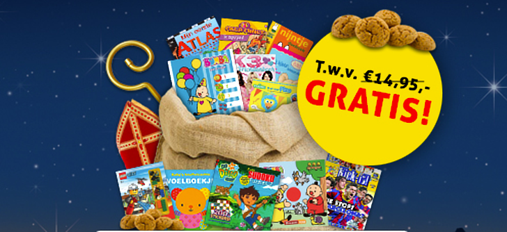 Ontvang 4 gratis kinderboeken
