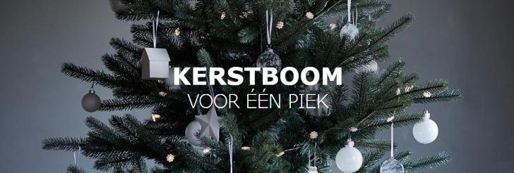 Kerstboom voor 1 euro
