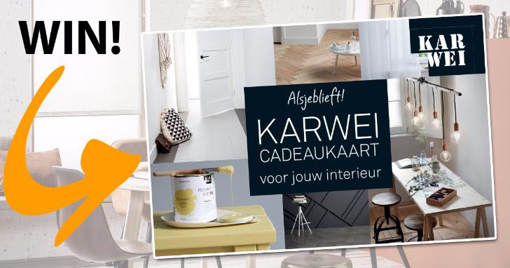 Win KARWEI shoptegoed