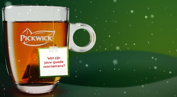 Gratis Pickwick thee en persoonlijke tea topic
