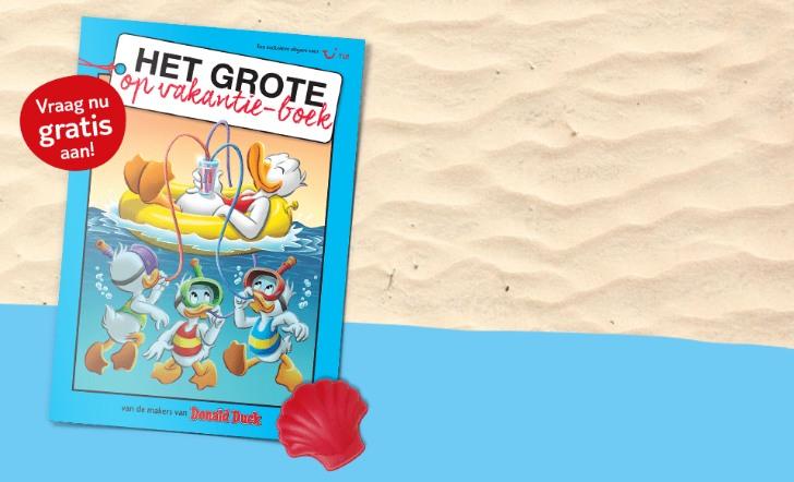 Gratis Donald Duck vakantieboek