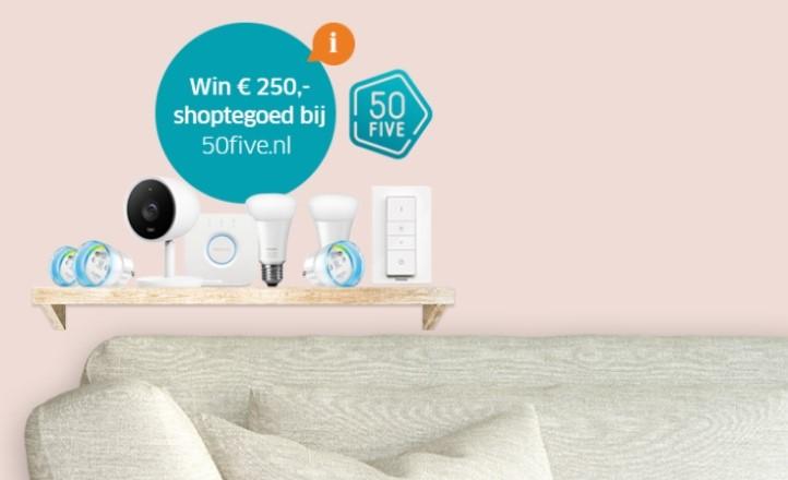 Win shoptegoed voor 50five.nl