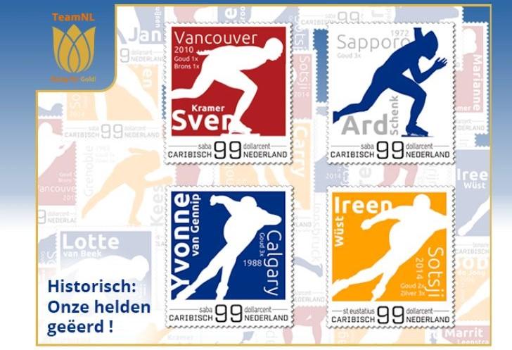 olympische spelen postzegels