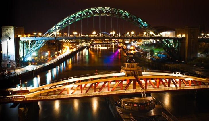 Gratis cruise Newcastle