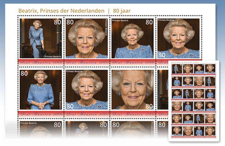 Beatrix postzegels
