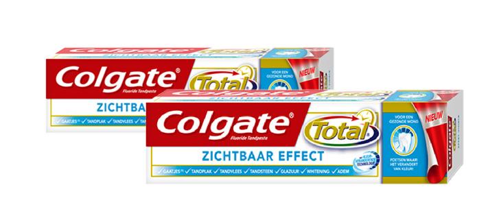 Colgate Total Zichtbaar effect