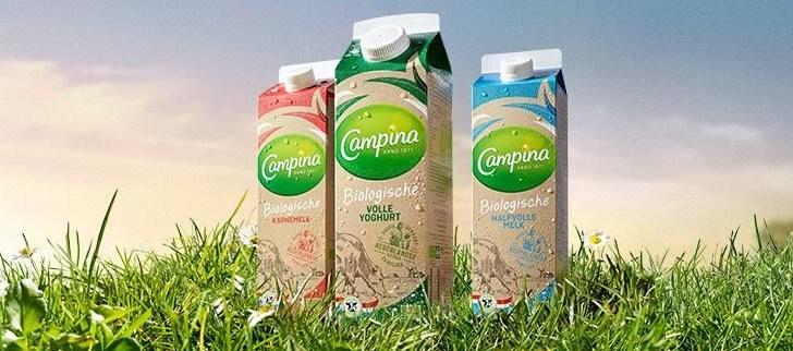 Gratis campina biologisch product