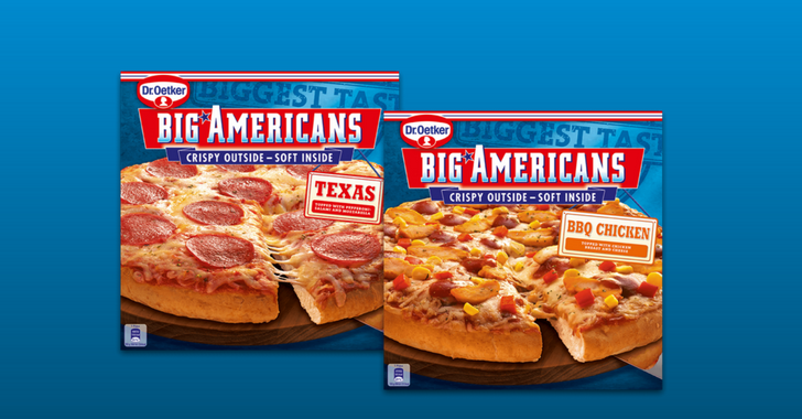 Dr. Oetker Big americans pizza