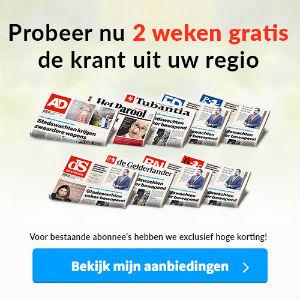 2 weken gratis krant - stopt automatisch