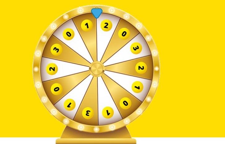 Lotto geluksrad