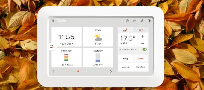 Herfstactie: win een Eneco Toon incl. installatie t.w.v. € 275