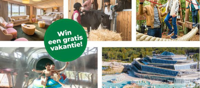 Win een vakantie in Center Parcs Villages Nature® Paris