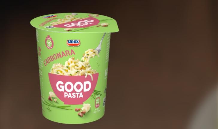 pasta in een cup