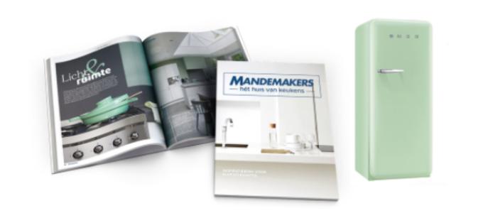 Gratis Mandemakers inspiratieboek + win een Smeg koelkast