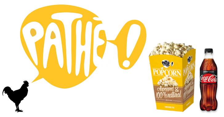 pathé popcorn en frisdrank