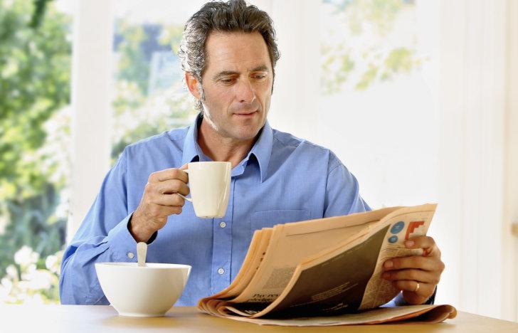 Krant uitproberen