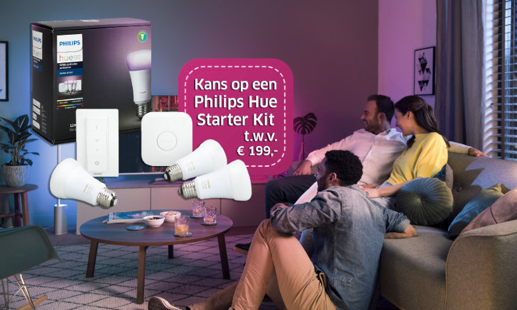 Win een Philips Hue pakket