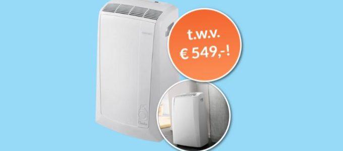 Maak kans op een mobiele airco t.w.v. € 549