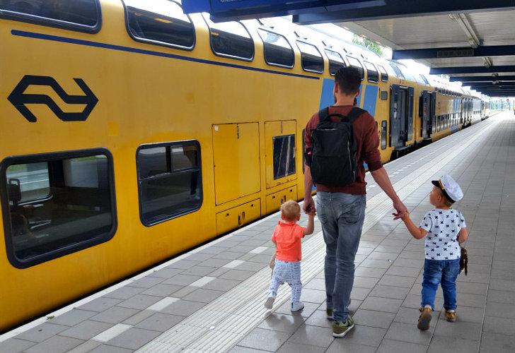 Kinderen reizen