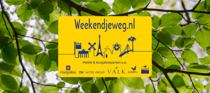 Win een Weekendjeweg.nl cadeaubon t.w.v. € 250