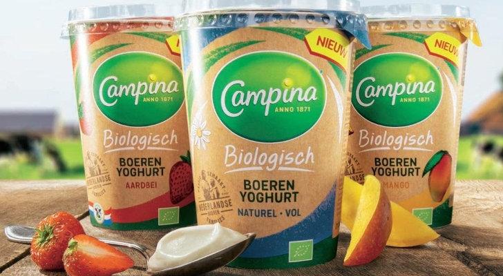 Campina boerenyoghurt