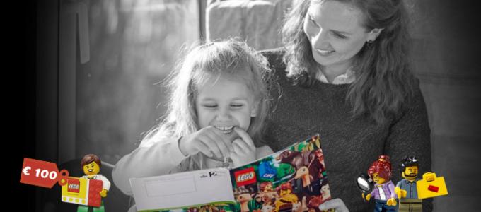 Gratis LEGO® Life magazine + win een voucher t.w.v. € 100