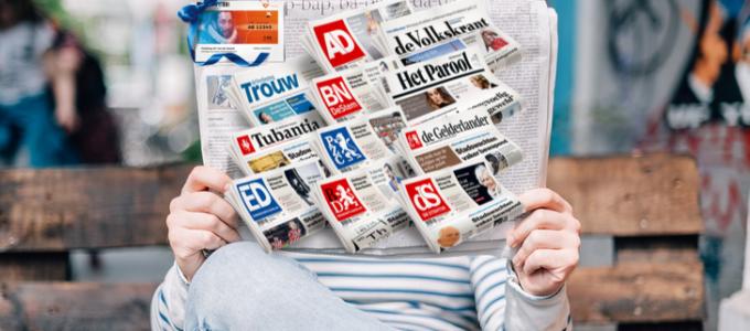 Lees de krant 5 weken voor € 5 + gratis 1/5 staatslot