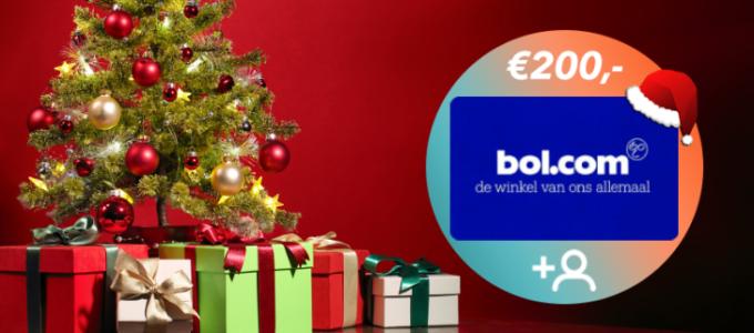 Kersttip: Win een bol.com cadeaukaart t.w.v. € 200