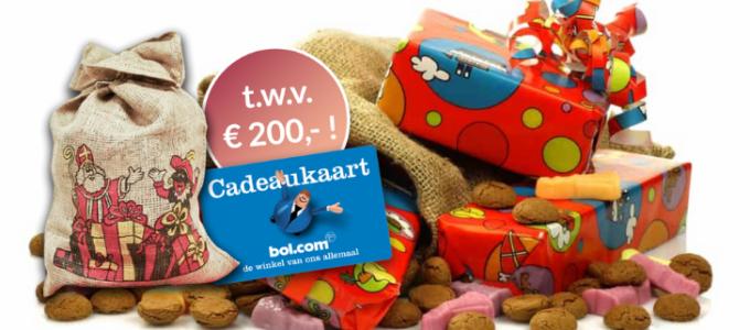 Sinterklaastip: Win een bol.com cadeaukaart t.w.v. € 200
