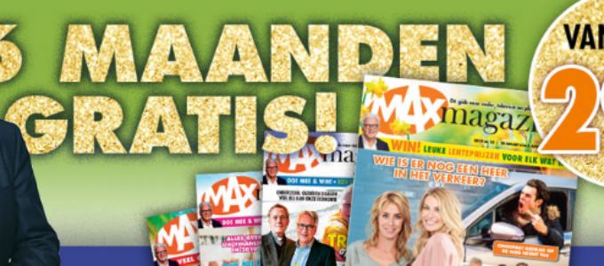 Lees MAX Magazine 6 maanden gratis