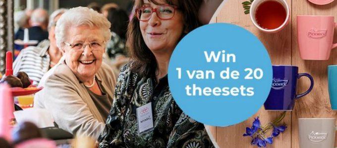 Win 1 van de 20 theesets t.w.v. € 32