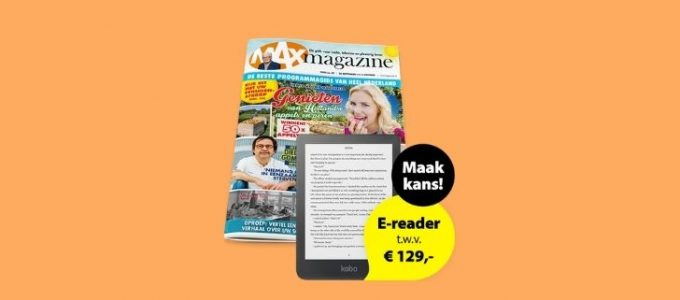Gratis MAX Magazine proefnummer