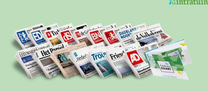 Lees de krant 5 weken voor € 5 + win een Intratuin bon