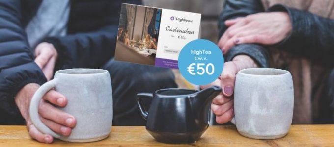 Maak kans op een HighTea bon t.w.v. € 50