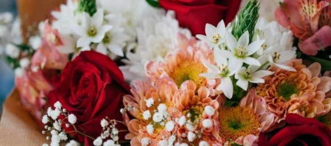 Maak kans op 1 van de 5 bossen bloemen