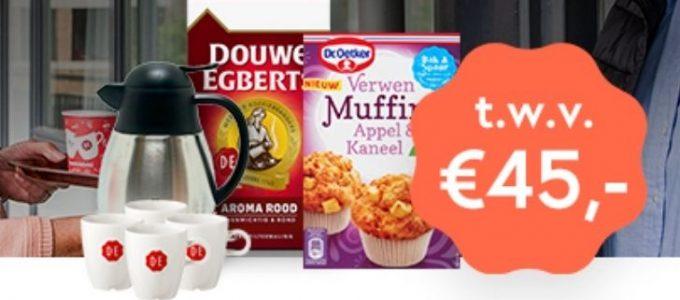 Maak kans op een koffiepakket t.w.v. €45