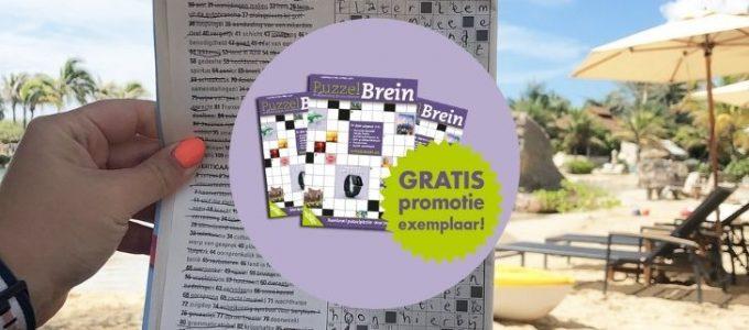 Gratis PuzzelBrein boekje en kans op € 20.000