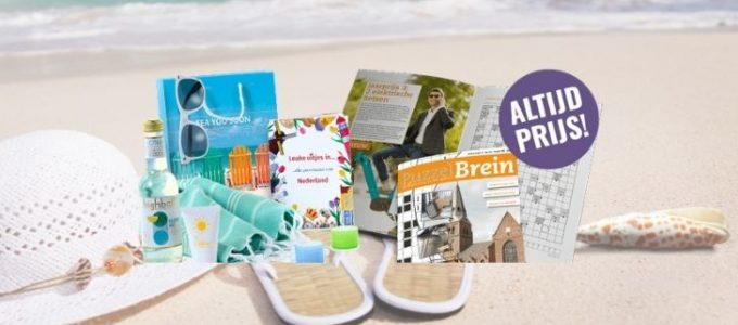 Win een PuzzelBrein zomerpakket t.w.v. € 100